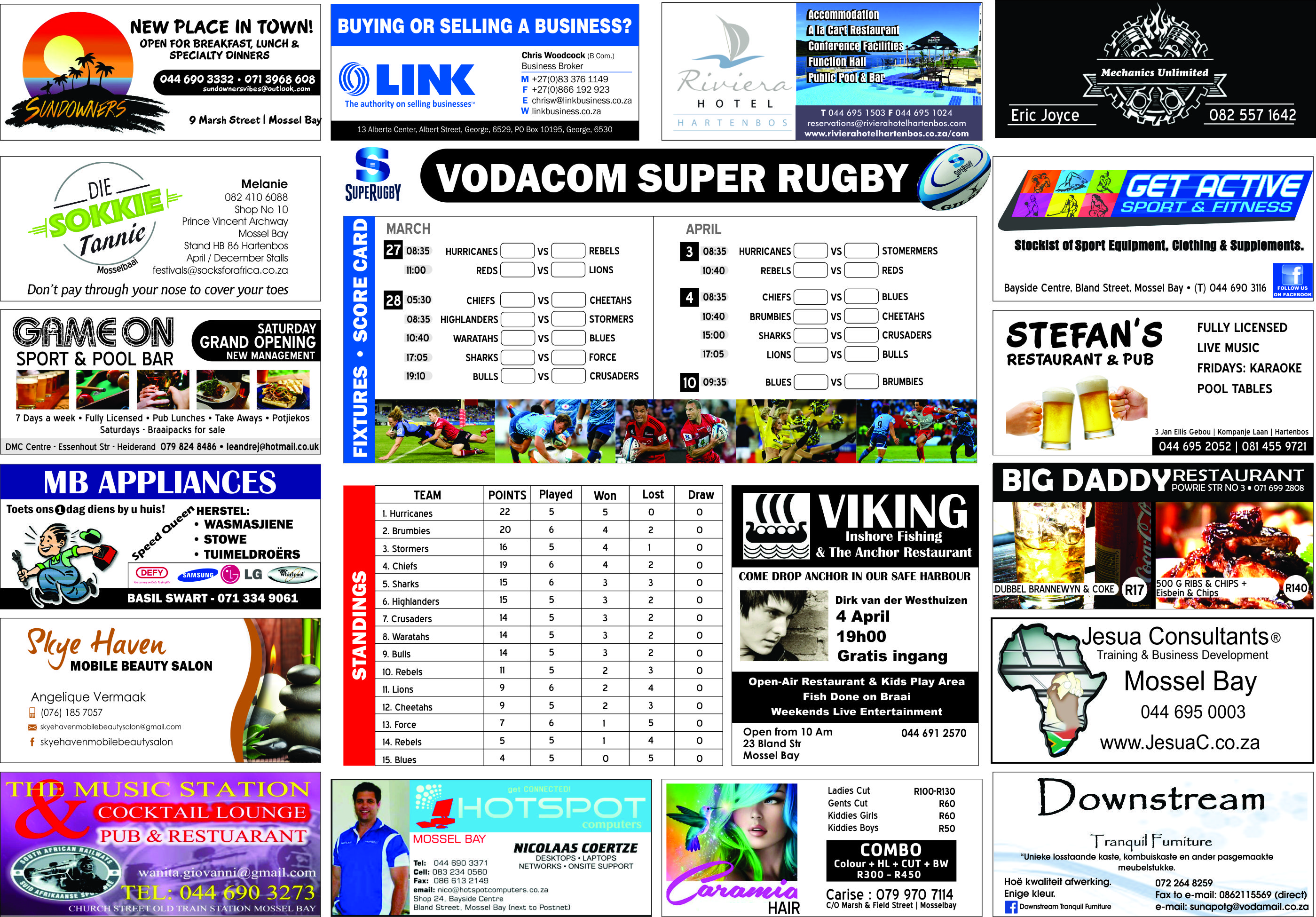 SUPER RUGBY PAGE